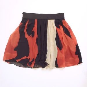 Vince Camuto Skirts - {vince camuto} blurred floral skirt